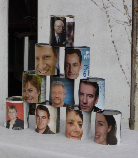 Chamboule tout politique, élections présidentielles obligent !
